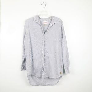 Maison Scotch | Stripe Button Up Shirt Dress Tunic